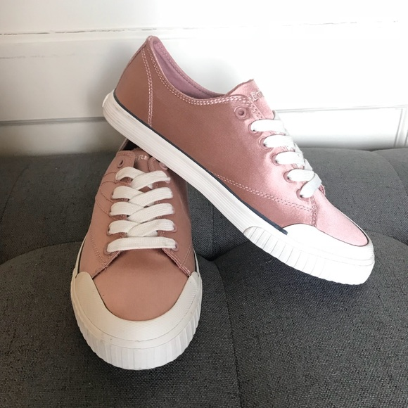 Satin Sneakers Pink Size